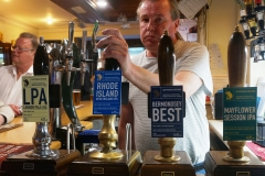 21 May 2018 OLC Bromley CAMRA Club of Year presentation Southwark Brewery pump takeover
